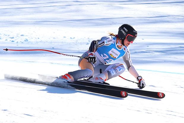 EC Reinswald: Norwegerin Kristina Riis-Johannessen gewinnt die Alpine Kombination (Foto: © Richard Kröss)