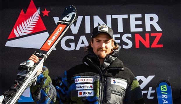 Marc Rochat sicherte sich den Sieg beim 1. ANC-Slalom von Coronet Peak (Foto: © Marc Rochat / Instagram)