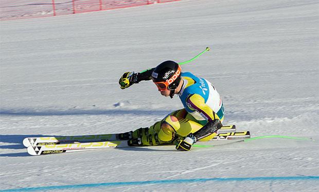 © skiforbundet.no / Henrik Roea holt sich Europacup-Sieg in 2. Abfahrt von Saalbach-Hinterglemm 2018