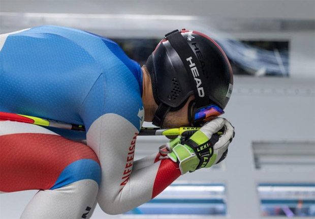 Nicht nur Gilles Roulin testet fleißig im Windkanal (Foto: Gilles Poulin / Facebook)
