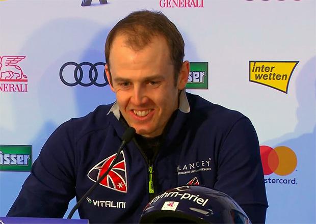 """Dave Ryding war 2017 beim Slalom auf dem Ganslernhang der """"Sieger der Herzen"""""""