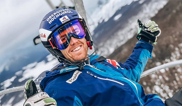 Dave Ryding ist im WM-Winter 2020/21 der Leitwolf des britischen Teams (Foto: © Dave Ryding / Facebook)