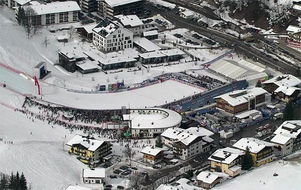 Saalbach-Hinterglemm im Rennen um die Alpine Ski WM 2023