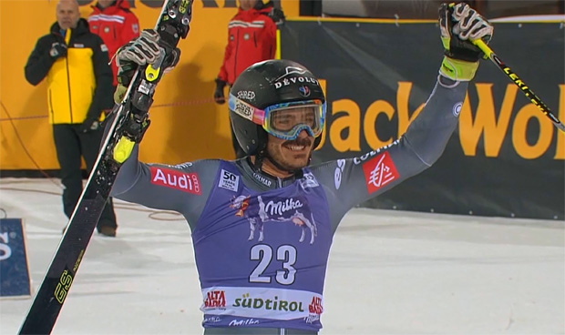 Cyprien Sarrazin gewinnt hauchdünn zweiten EC-Riesentorlauf in Oberjoch