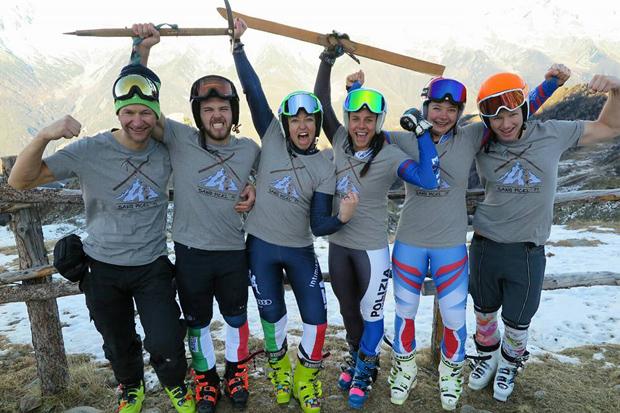 Sawo Pickl-Team: Hartes Training und trotzdem  jede Menge Gaudi