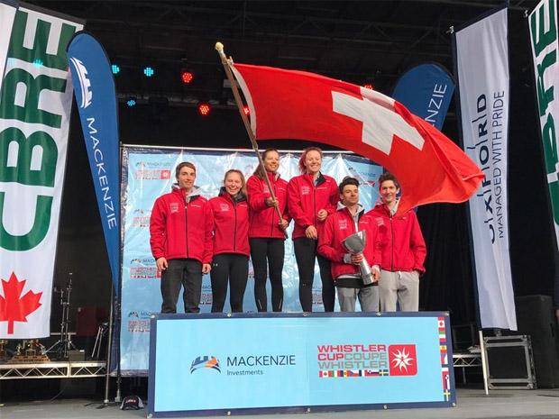 © swiss-ski.ch / Schweizer Delegation beste Mannschaft am Whistler Cup