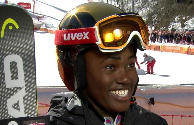 Sabrina Wanjiku Simader - Ein Schneeleopard aus Kenia bei den Olympischen Spielen