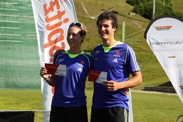 © Deutscher Skiverband: Strongest Athletes 2015: Simona Hösl und Hansi Schwaiger