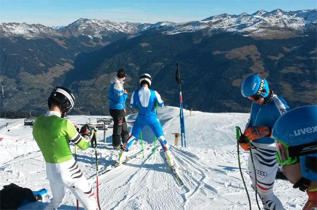 Der DSV nutzt die Top Schneeverhältnisse  in der Skiregion Hochzillertal