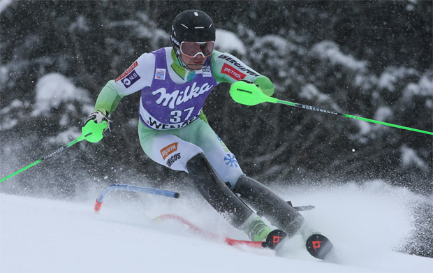 © Kraft Foods / Slowenischer Slalomfahrer Matic Skube hat genug
