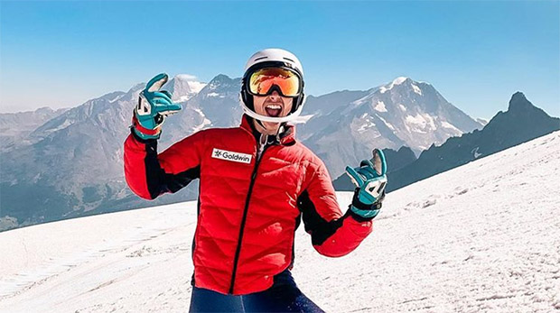Sieg für Laurie Taylor beim Europacup-Slalom von Val Cenis (Foto: © Billy Major)