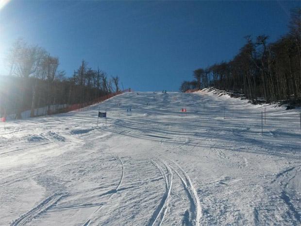 © swiss-ski.ch / Die Schweizer Frauen und einige Männer waren in Ushuaia (Argentinien)
