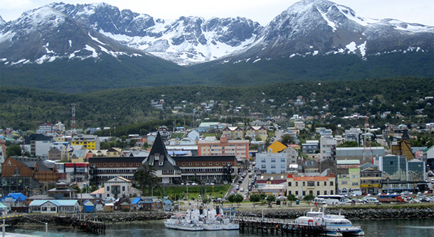 Steve Lochers erste Dienstreise nach Ushuaia ging zu Ende (Foto: fisi.org)