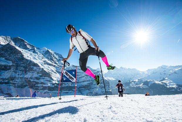 Das Finale findet am 25.03. in der Schweiz, in Wengen, auf der Lauberhorn-Abfahrtsstrecke statt. (Foto: Michael Werlberger / www.vertical-up.com)