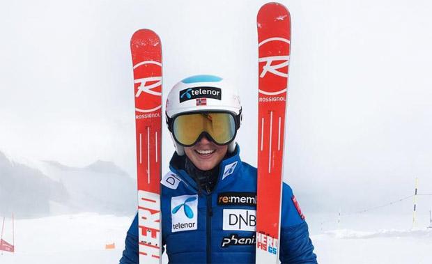 Die Abfahrts-Juniorenweltmeisterin 2018 heißt Kajsa Vickhoff Lie (Foto: Kajsa Vickhoff Lie / instagram)