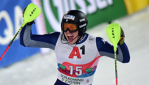 Alex Vinatzer will auch im Riesentorlauf auftrumpfen (Foto: © Archivio FISI/Pier Marco Tacca/Pentaphoto)