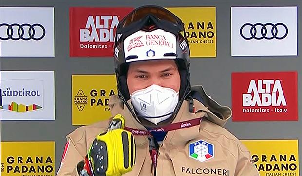 Alex Vinatzer hofft auf ein Herbsttraining in Ushuaia und will im Riesentorlauf erfolgreich sein