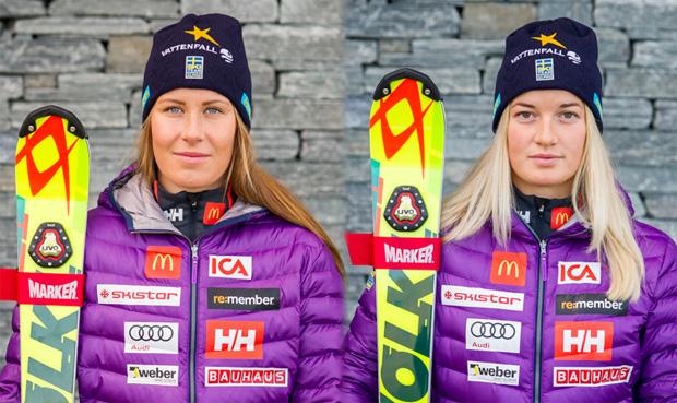 © www.skidor.com / Ylva Stålnacke und Lisa Blomqvist sind außer Gefecht