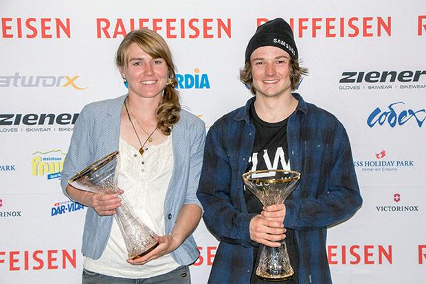 © zssv.ch / Suter und Bösch als Zentralschweizer Schneesportler des Jahres ausgezeichnet