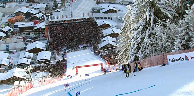 Skiweltcup in Adelboden: Die Rennen sind gesichert
