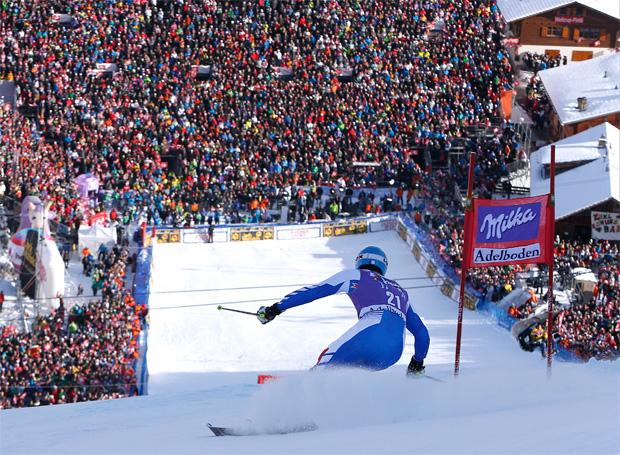 © Kraft Foods / Das Chuenisbärgli ist bereit für ein Adelbodener Skifest