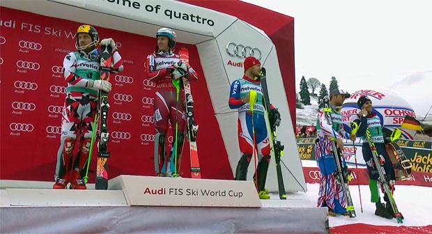 Adelboden News: 30'700 Besucher und ein knapper Norwegischer Sieg im Slalom
