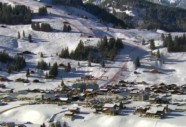FIS-Schneekontrolle in Adelboden ist gut verlaufen