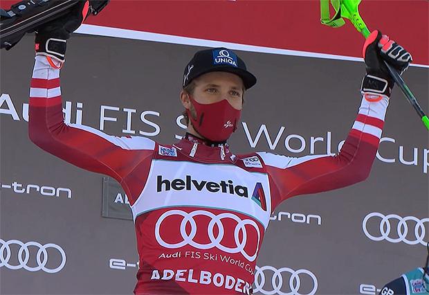 Marco Schwarz will nicht nur vom zweiten Slalomsieg in Folge träumen