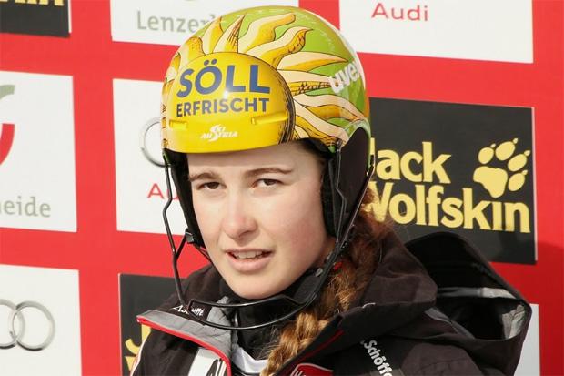 Bestzeit für Christina Ager beim 2. Lake-Louise-Training (Foto: Gerwig Löffelholz)