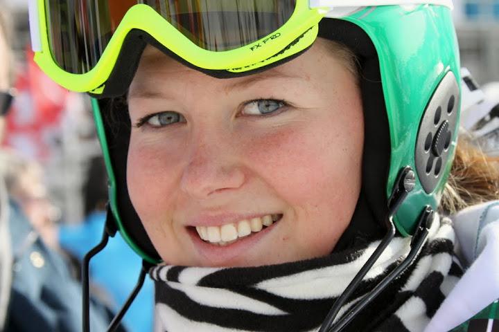 Lisa Agerer trainiert weiter auf Schnee