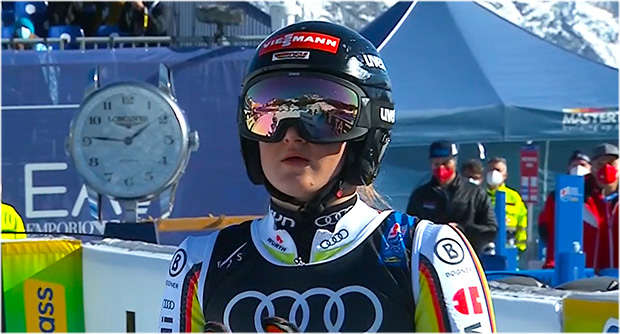 Talentierte Emma Aicher kürt sich zur deutschen Slalom-Meisterin 2021