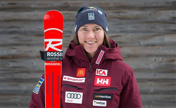 Estelle Alphand möchte zu Speed-Höhenflügen ansetzen (Foto: Svenska Skidförbundet)