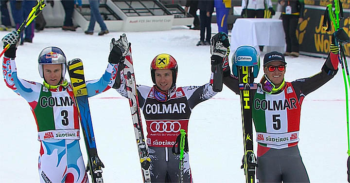 Riesenslalom in Alta Badia 2013
