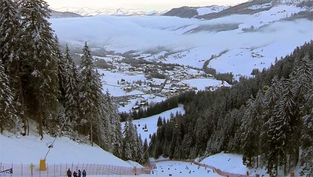 FIS-Schneekontrolle in Alta Badia/Hochabtei positiv