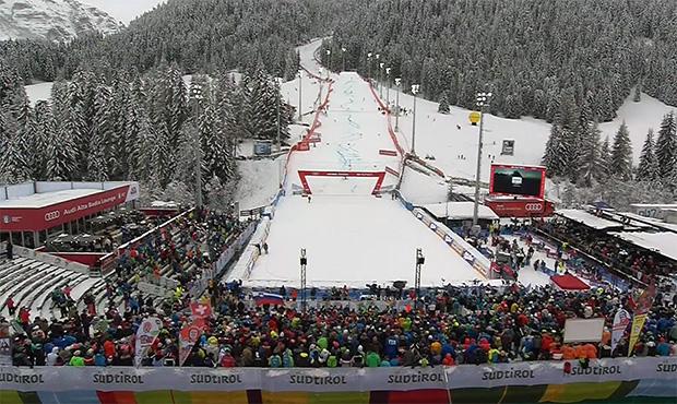 Auch die Rennen in Alta Badia, auf der Gran Risa, finden ohne Zuschauer statt