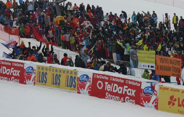 Skiweltcup am Arber 2011