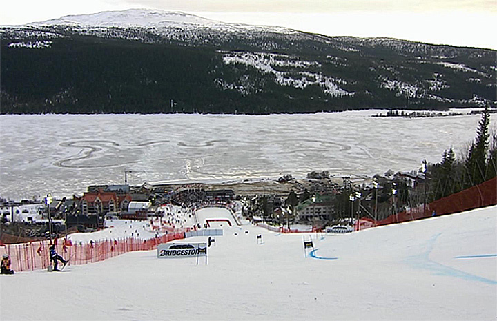 Riesenslalom der Damen in Are (SWE)