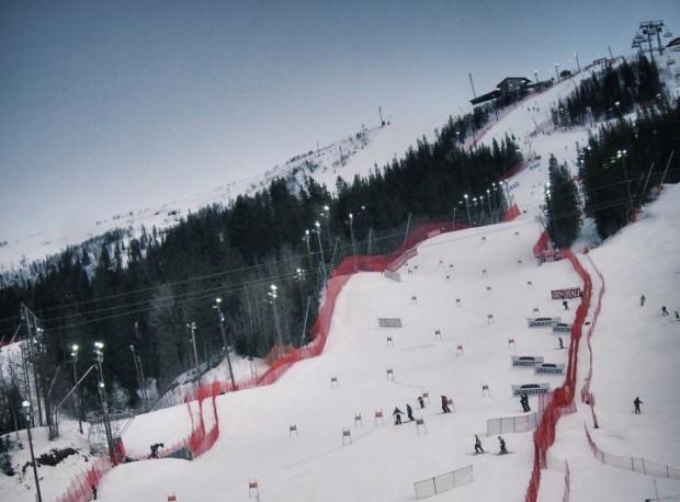 Slalom der Damen in Are - 1. Durchgang 09.30 Uhr - Finale 12.30 Uhr