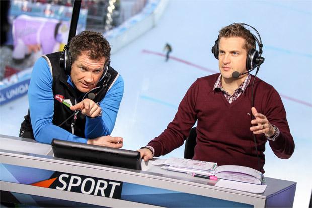 Armin Assinger und Oliver Polzer bei der Arbeit (Foto: ORF)