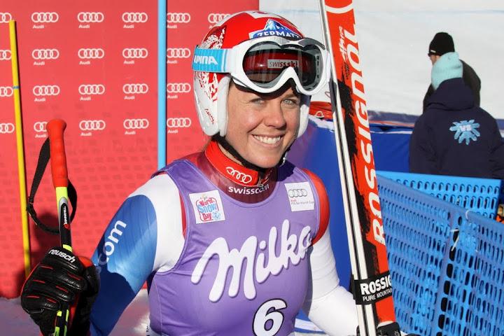 © Gerwig Löffelholz / Schweizer Meisterschaften: Aufdenblatten gewinnt Damen Abfahrt