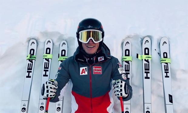 Stefan Babinsky entscheidet 2. EC-Super-G in Zauchensee für sich (Foto: Stefan Babinsky / instagram)
