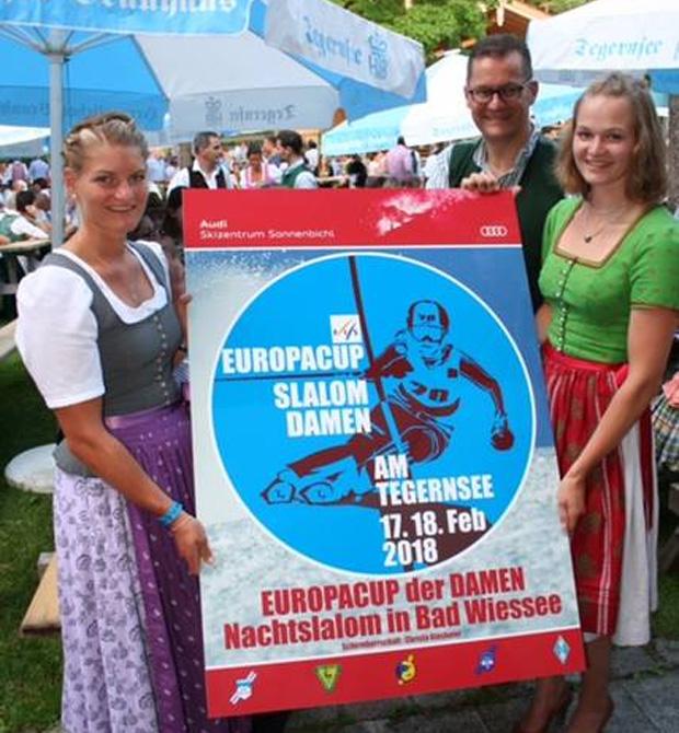 Marlene Schmotz und Carolin Lippert freuen sich über den Europacup-Auftakt in ihrer Heimat! (Foto: DSV / Facebook)