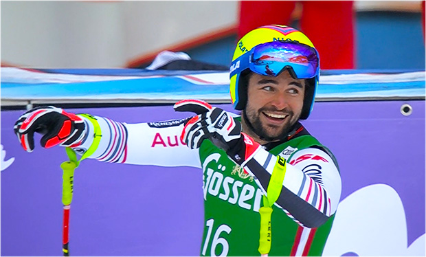 Schwerer Sturz von Matthieu Bailet beim Training in Zermatt.