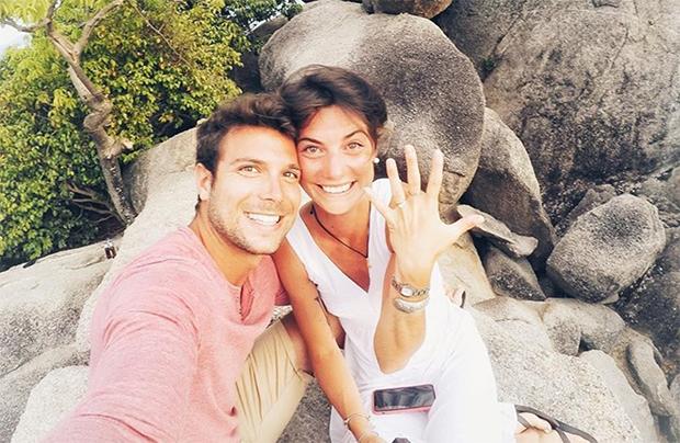 Andrea Ballerin heiratete seine Giulia – coronabedingt – im zweiten Anlauf (Foto: © Andrea Ballerin / instagram)