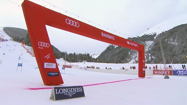FIS erteilt Ski Weltcup Rennen in Bansko grünes Licht