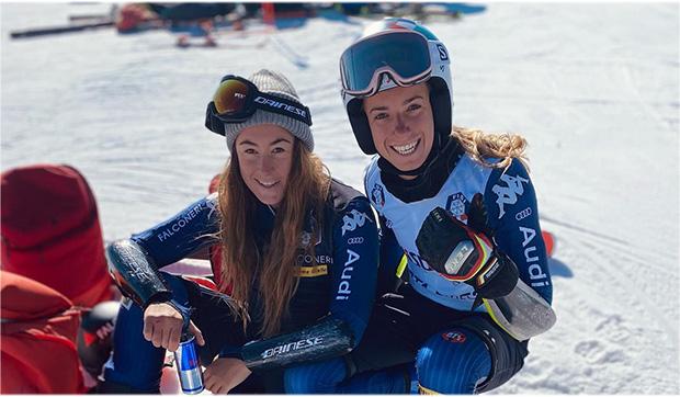 Sofia Goggia und Marta Bassino sind in der italienischen Sportlerwahl noch im Rennen (Foto: Marta Bassino / Facebook)