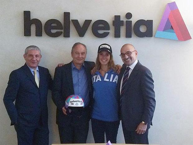 Helvetia-Versicherung setzt auf Marta Bassino (Foto: © Helvetia)