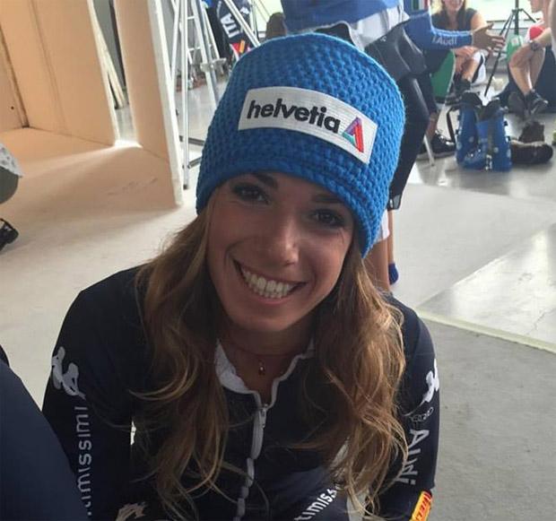 Marta Bassino will in dieser Saison erfolgreich sein  (Foto Marta Bassino / facebook)