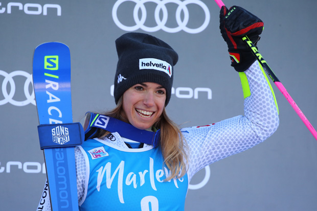 Auch Marta Bassino hofft, dass die Ski-WM 2021 ausgetragen wird (© Archivo FIS/Pentaphoto)