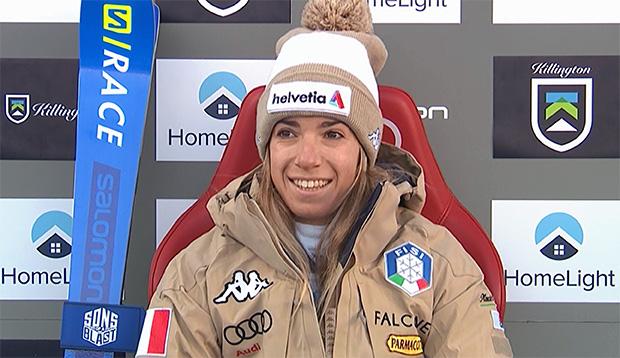 """Marta Bassino: """"Ich hoffe, dass es bald möglich ist, wieder mit dem Skifahren zu beginnen."""""""